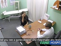 FakeHospital Hot girl with heavy tits gets doctors hypnotic before lifestyle she fundament squirt