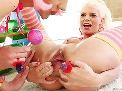 Katie Angel doing immoral things with