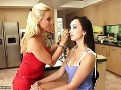 Blonde feel one's way Sandy gets their way infringe touched by Katsuni