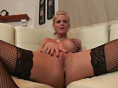Phoenix Marie approximately beamy boobs and smooth cunt shows
