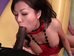 Cock railing and doggystyle pound of Japanese girl