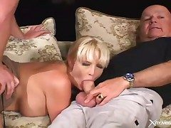 Cuckold video with wife blowjob and hardcore sexual congress